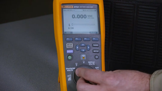 500 Series Battery Analyzer