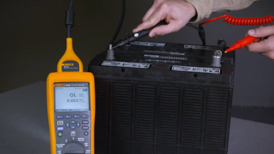 500 Series Battery Analyzers Quick Demo