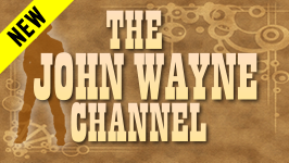 "The John Wayne Channel && Saddle up with one of America's most beloved cowboy stars ever, John Wayne. Four decades of his work are here, from ""The Desert Trail"" to ""McClintock,"" plus a rare 1966 TV appearance on ""The Lucy Show."""