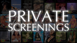 PRIVATE SCREENINGS && Superstar Marilyn Chambers Private Screenings offers an exclusive behind the scenes look into the life of Hollywood.