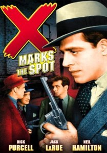 X Marks the Spot && It's 1942. Rubber is a valuable commodity during WW2. Eddie Delaney is a second lieutenant in the army and a private detective. Eddy swings into action when his father, police-sergeant Timothy J. Delaney, is gunned down by rubber racketeers. With the help of his brave friend and radio disc jockey Linda Ward and police-lieutenant William 'Bill' Decker, Eddy goes after the racketeers. && NR && George Sherman && Damian O'Flynn, Helen Parrish, Dick Purcell &&   && 1942