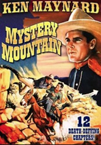 Mystery Mountain - 01 && Ken Williams is determined to discover the identity of the mysterious Rattler, who preys upon railroads and transportation companies like that owned by Jane Corwin. The Rattler is especially difficult to catch because of his skill at disguising himself as other people. && NR && Otto Brower, B. Reeves Eason && Ken Maynard, Tarzan, Verna Hillie &&   && 1934