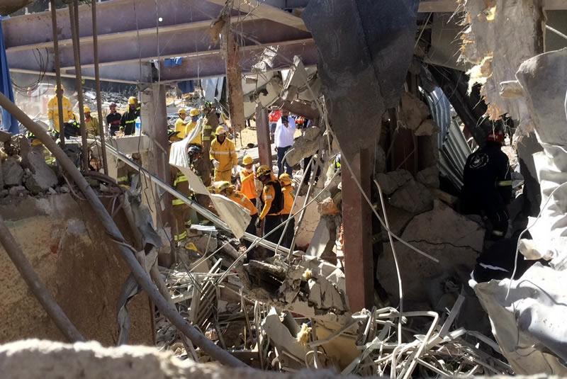 Abren investigación por explosión en Cuajimalpa