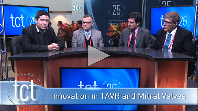 Innovation Update with Dr. Juan Granada: TAVR and Mitral Valves