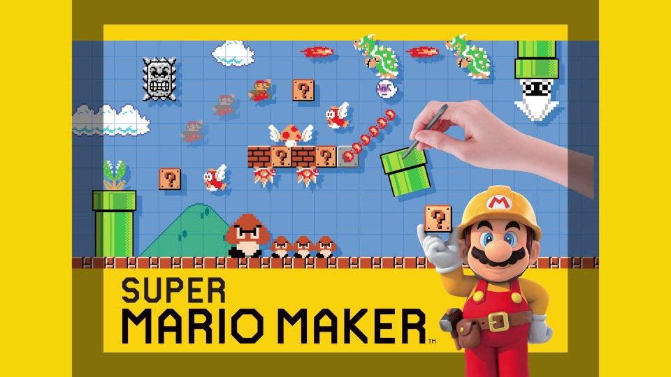 super mario maker only available on wii u is packed with endless mario ...