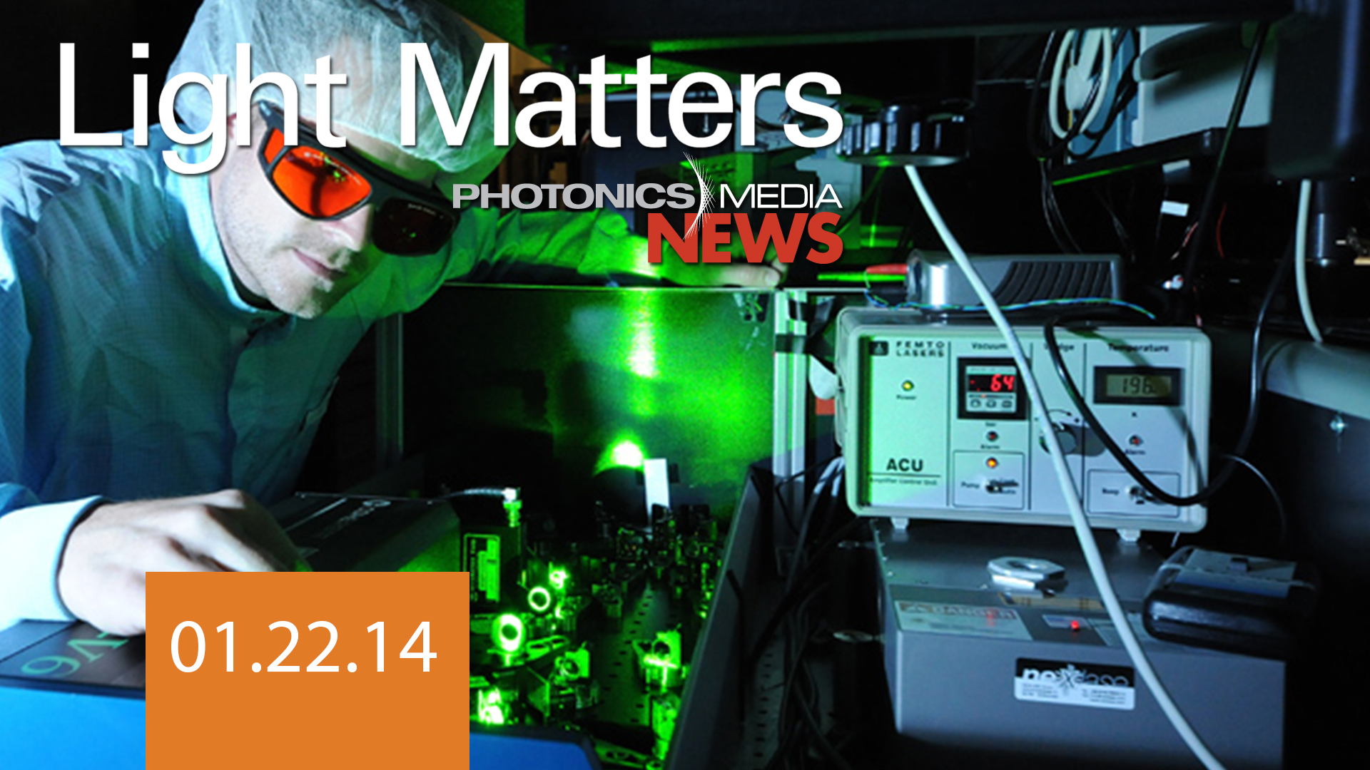 Waveform Control, Subsurface Probe & Harvesting Solar Energy - LIGHT MATTERS 01/22/14