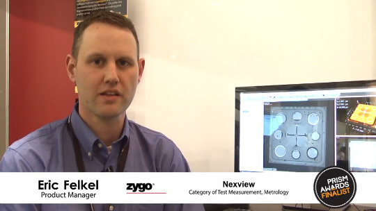 Zygo - 2014 Prism Award Finalist - Nexview 3D Optical Surface Profiler