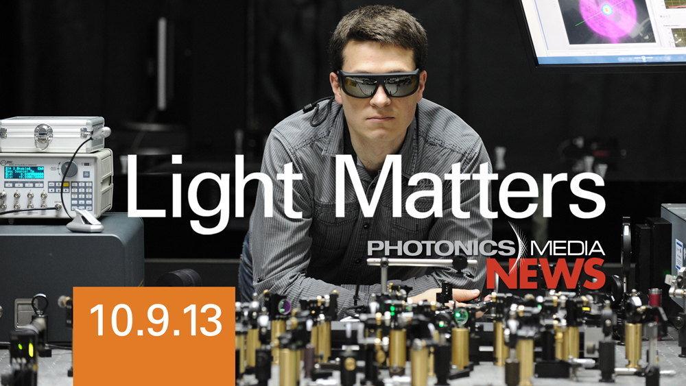 Tabletop OPA & Silicon Photonics - LIGHT MATTERS 10/9/13