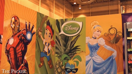 Disney promises fresh adventures for fresh produce