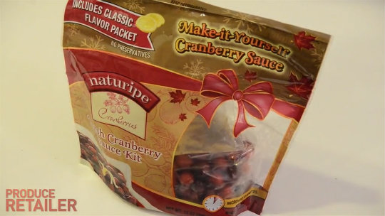 Pamela's Kitchen: Naturipe Farms Cranberry Sauce Kit