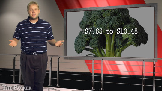 Broccoli breaches $30 mark