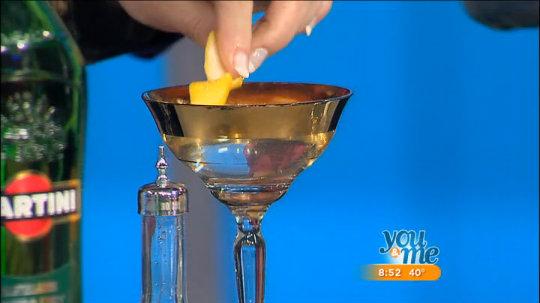 Martini & Bombay Sapphire Cocktails