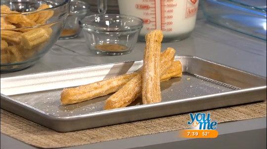 Churro Bread Pudding Recipe