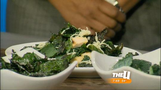 Baked Kale Salad