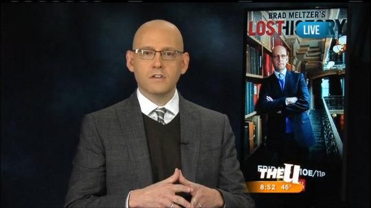 """Brad Meltzer Talks """"Lost History"""""""