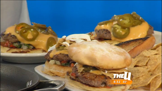 DMK's Nacho Burger