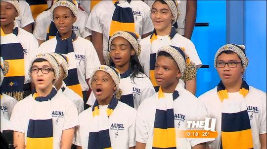 Academy for Urban School Leadership Honor Choir