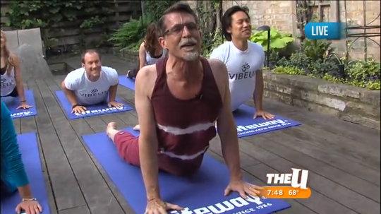 Rick Bayless Yoga