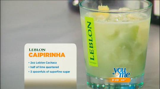 Leblon Cachaca Cocktails