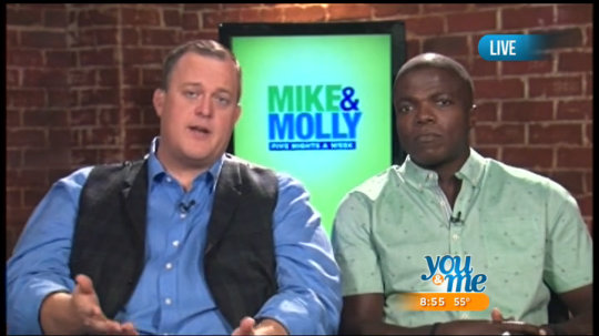 Billy Gardell & Reno Wilson Talk 'Mike & Molly'