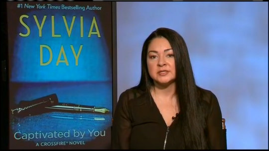 Sylvia Day Talks 'Captivated by You'