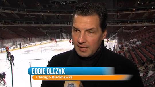 Eddie Olczyk: Youth Hockey Award
