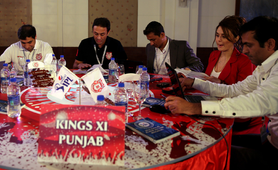 2014 Pepsi IPL Player Auction: KXIP