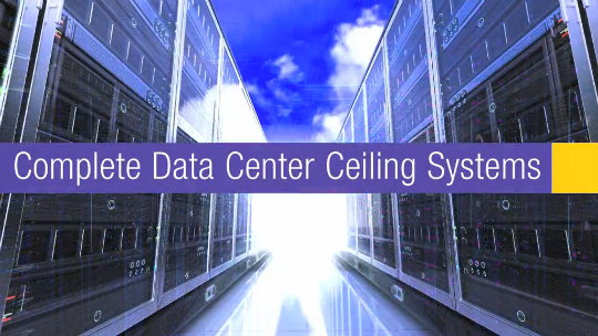 Armstrong Data Center Ceilings featuring Prelude XL Max