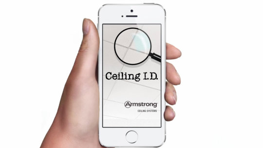 Ceiling ID Phone App
