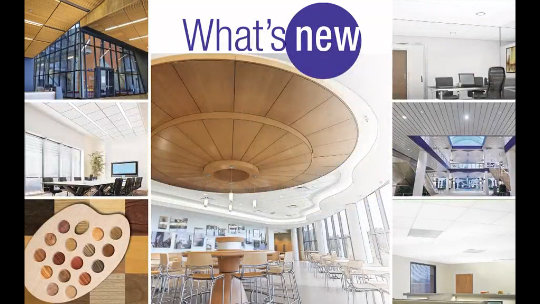 What's New in Commercial Ceilings Spring 2015