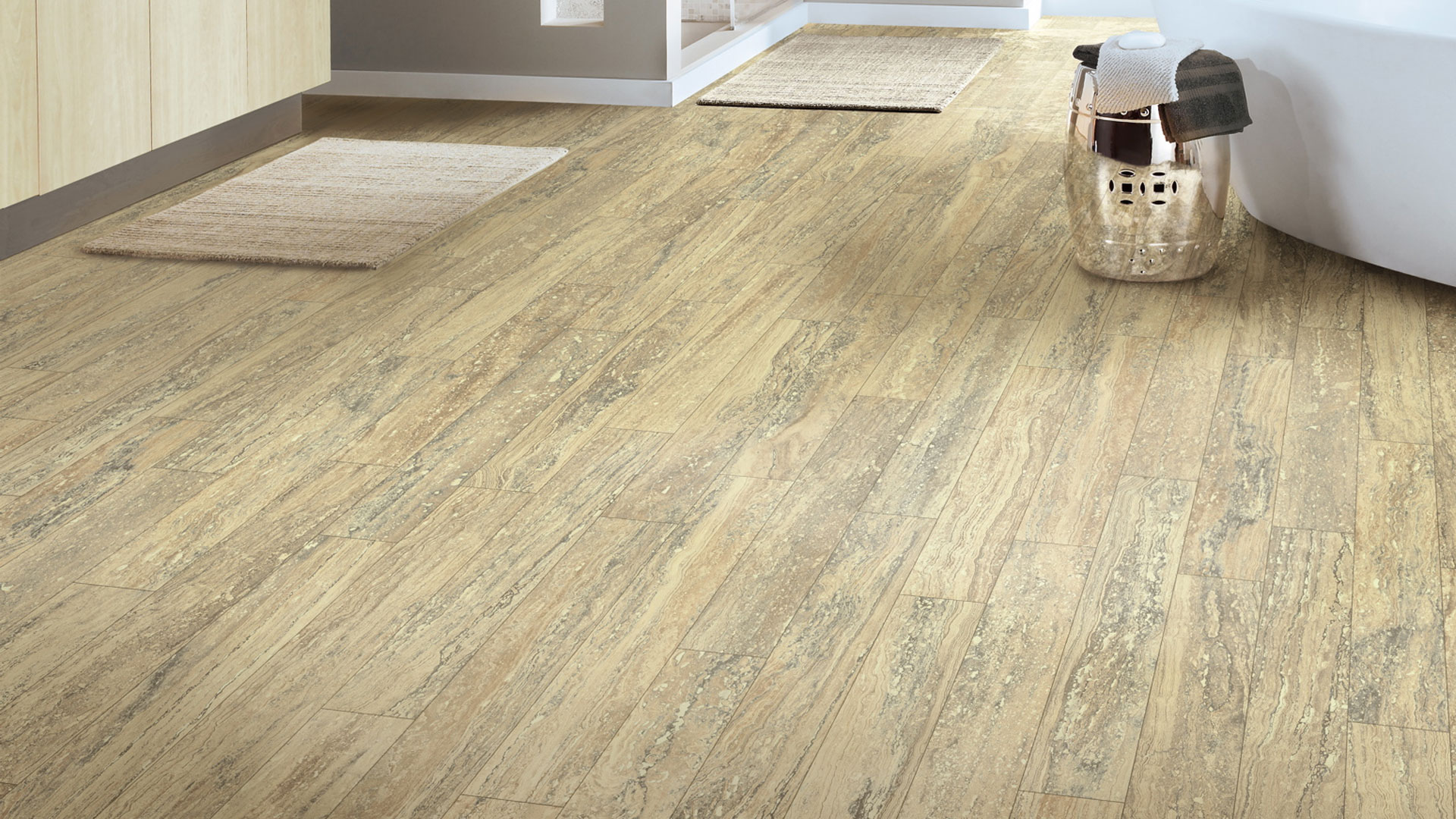 Resilient flooring vinyl sheet floors from armstrong for Pvc hardwood flooring