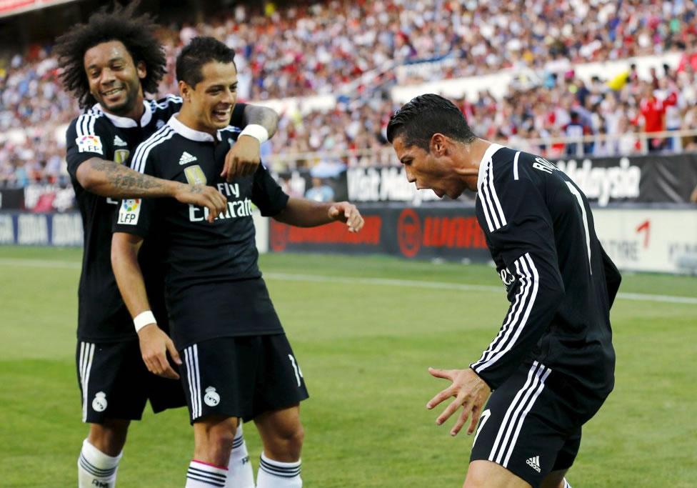 Sevilla 2-3 Real Madrid (Liga española)