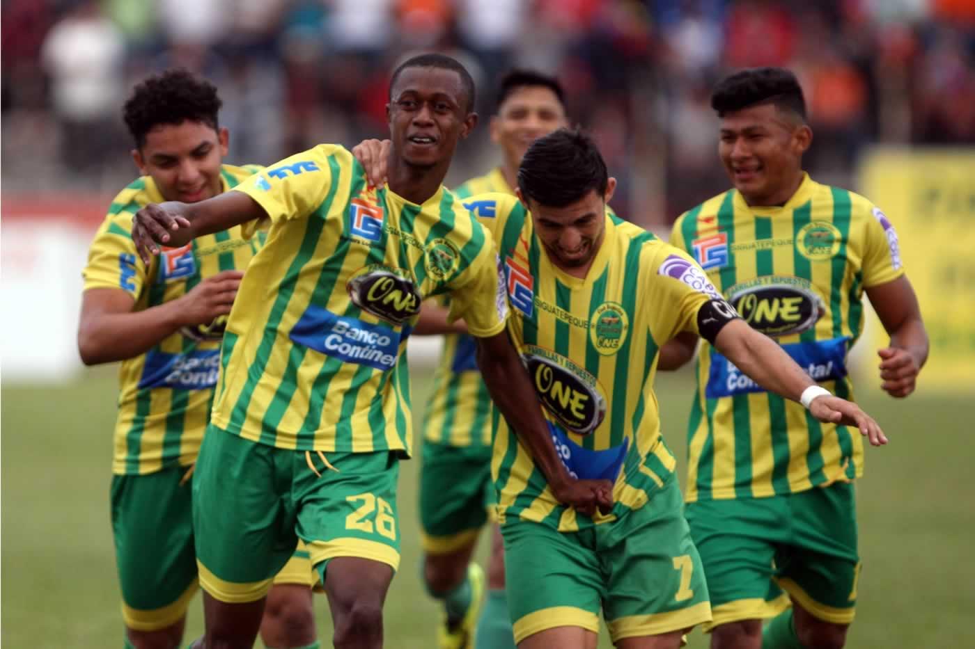 Parrillas One 3-1 Honduras Progreso