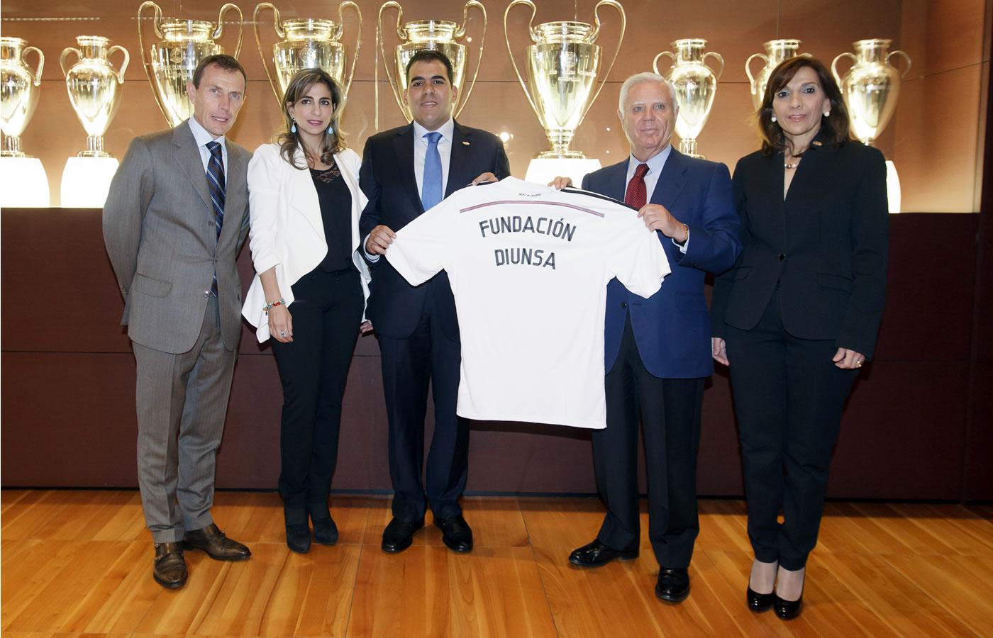 Diunsa y Real Madrid renuevan su convenio