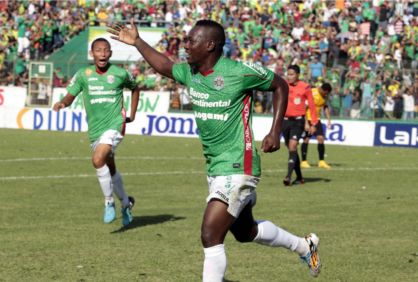 Marathón 3-2 Olimpia