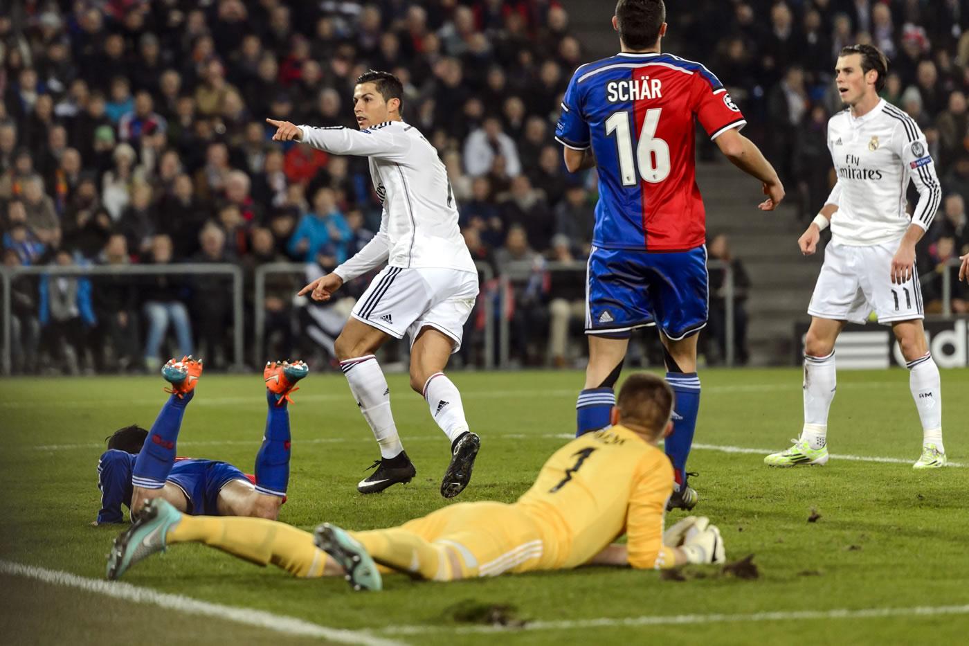 Basilea 0-1 Real Madrid (Champions League)