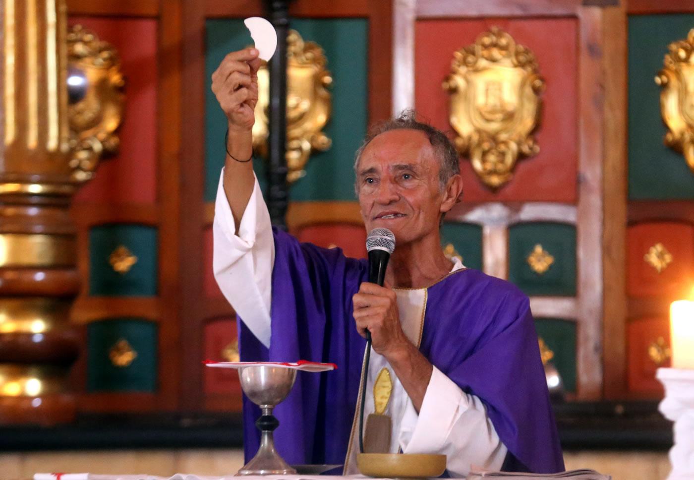 Padre Alberto, pilar del nuevo templo del fútbol olanchano