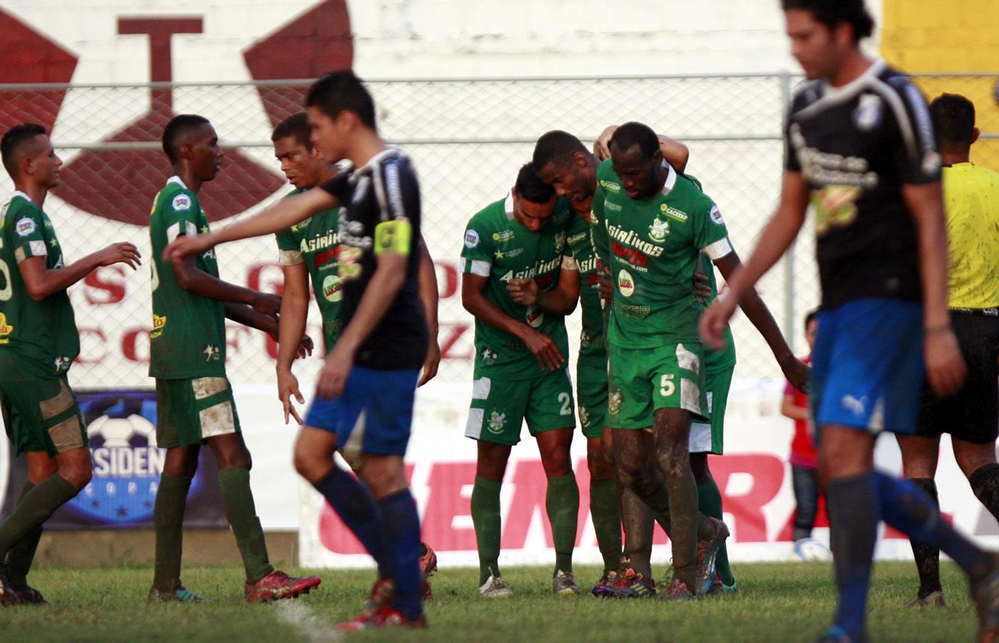 Honduras Progreso 3-2 Platense