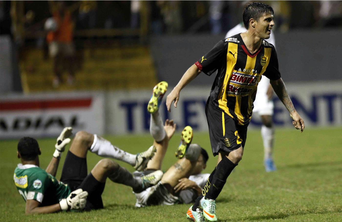 Real España 3-1 Platense