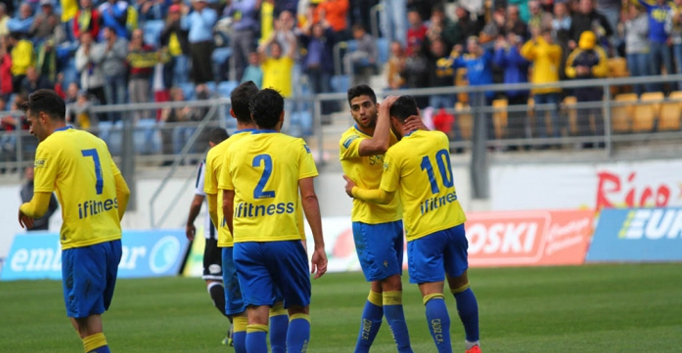 Gol de Jonathan Mejía con el Cádiz en España