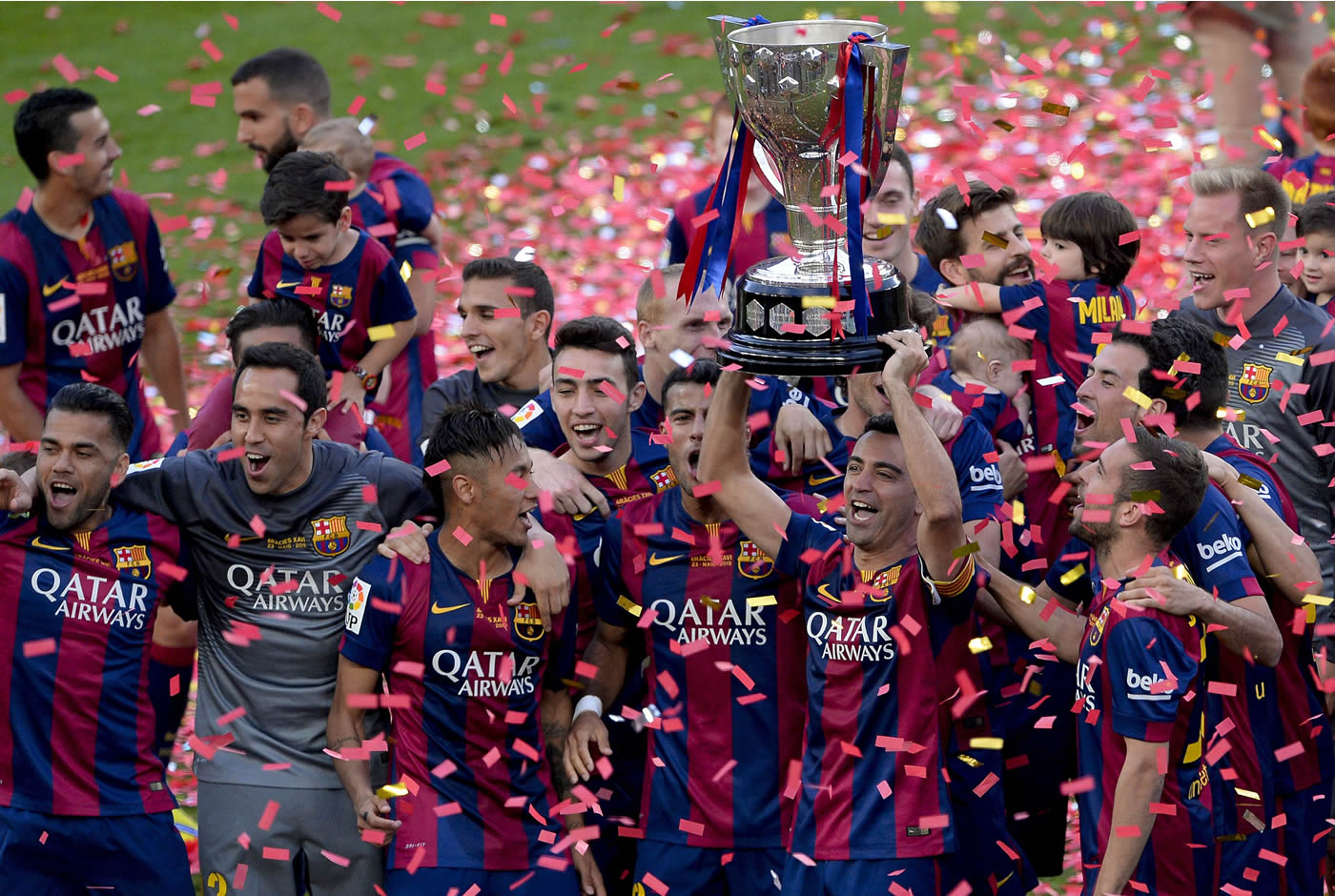 Barcelona 2-2 Deportivo La Coruna (España)