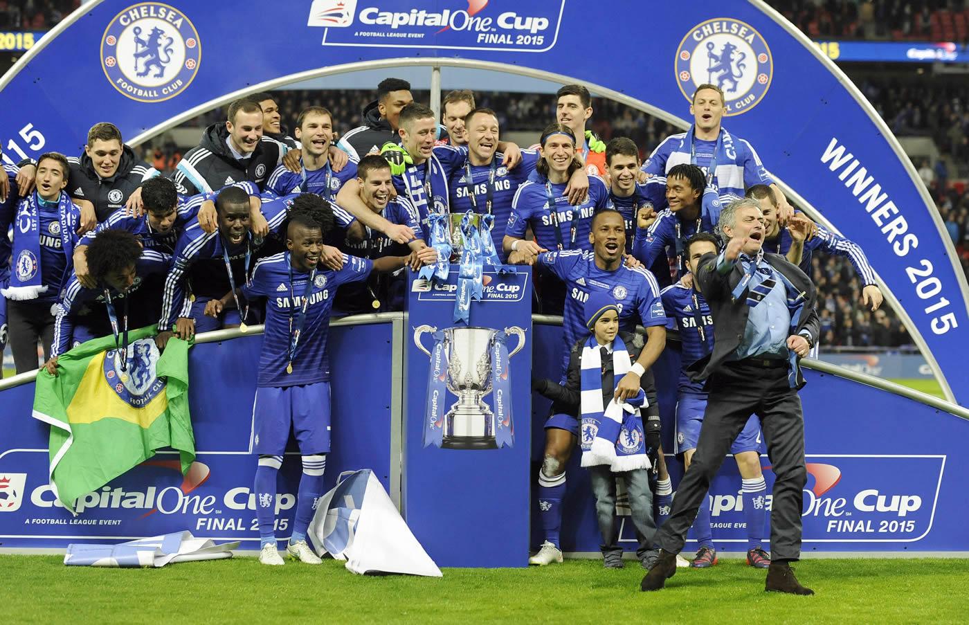 Chelsea, campeón de la Copa de la Liga tras ganar 2-0 al Tottenham