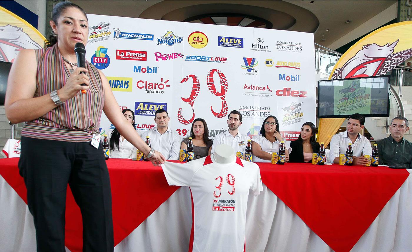 Lanzamiento oficial de la 39 Maratón Internacional de LA PRENSA