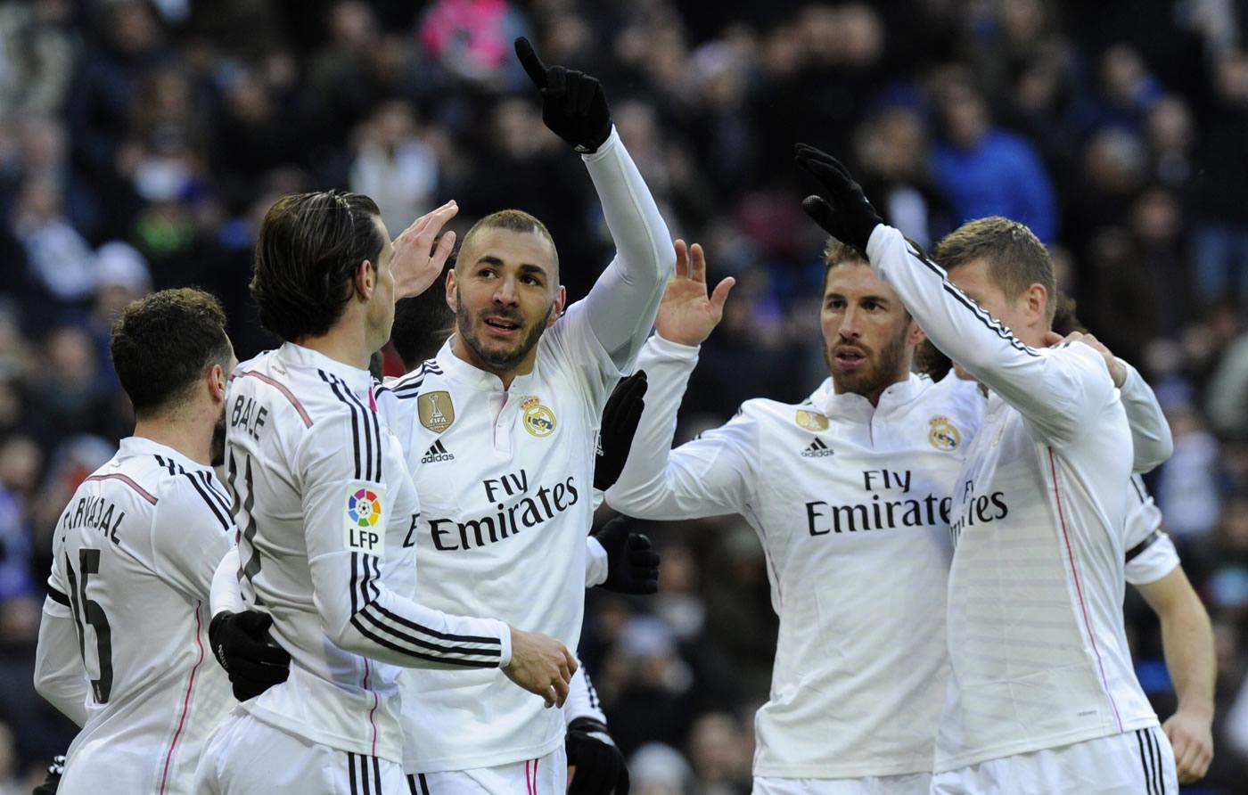 Real Madrid 4-1 Real Sociedad (Liga Española)