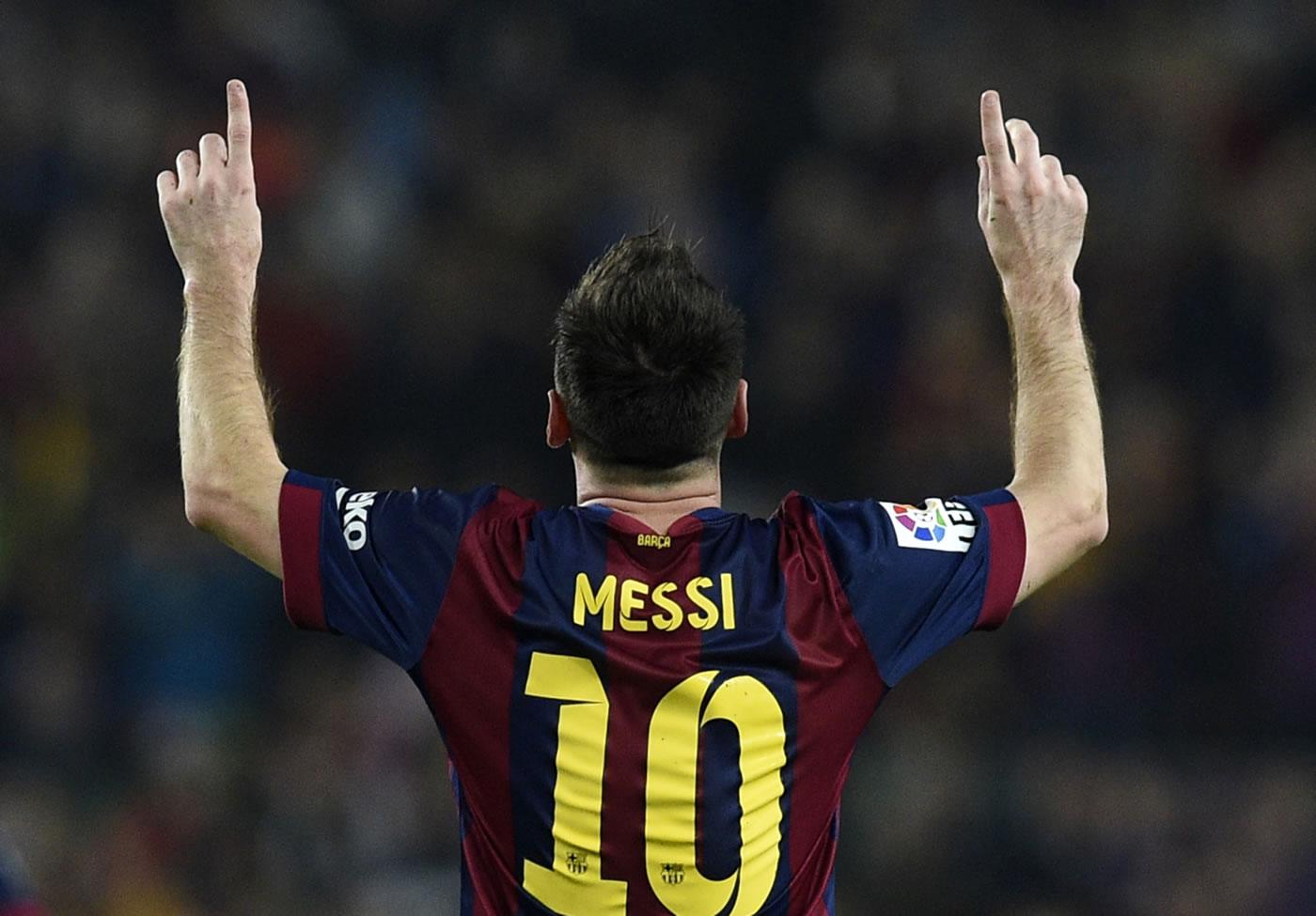 Cinco de los más simbólicos 253 goles de Messi en Liga