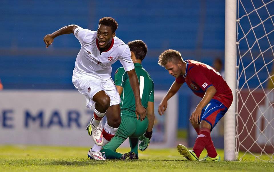 Costa Rica 2-3 Canadá (Premundial Sub-17)