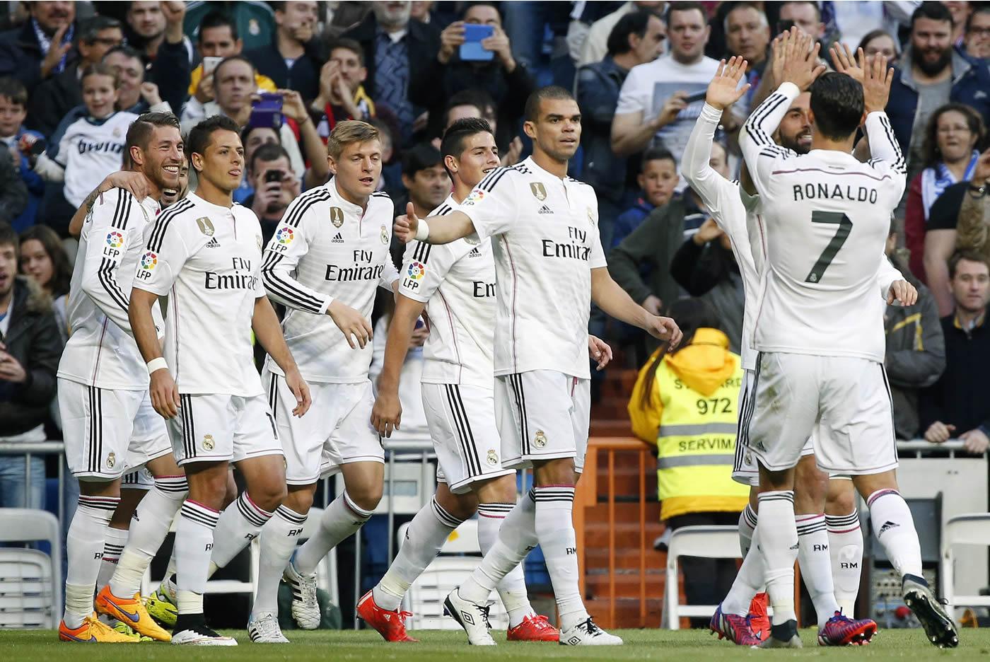 Real Madrid 3 - 1 Málaga (Liga española)