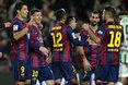 Barcelona 5-0 Cordoba (Liga española)