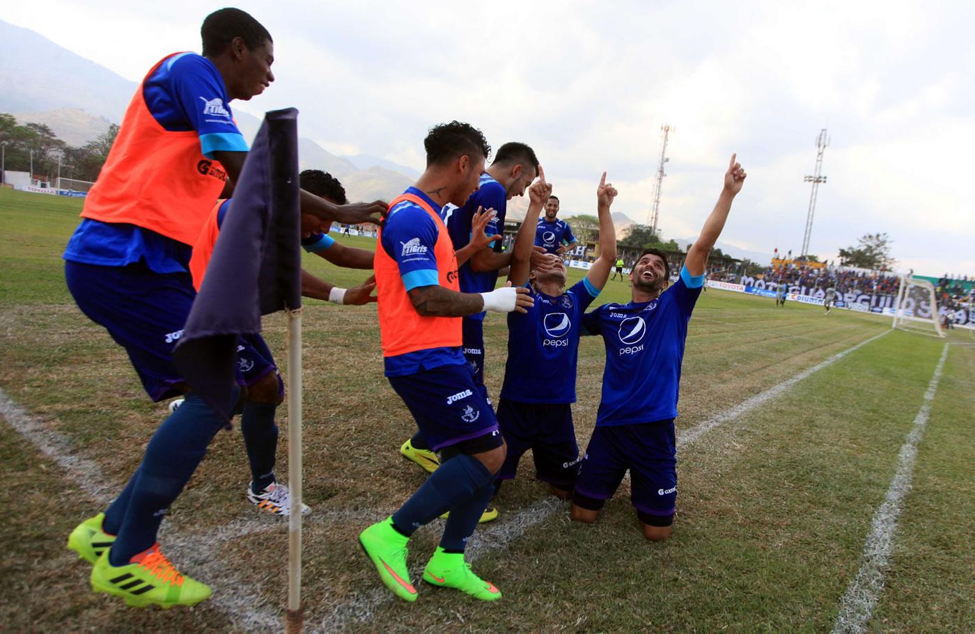 Motagua 3-0 Esperanzano