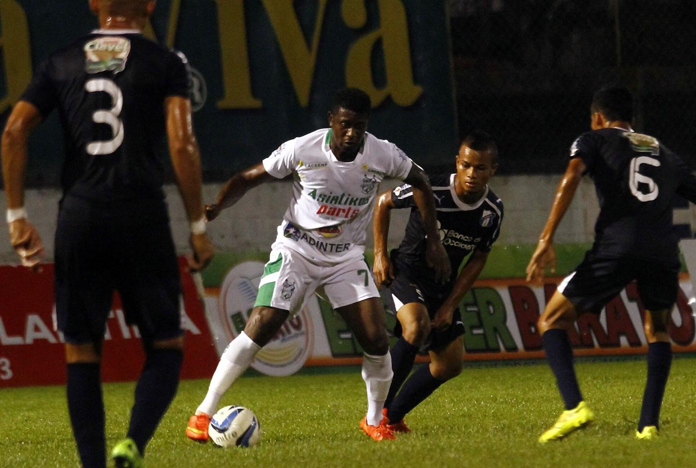 Platense 4-4 Honduras Progreso